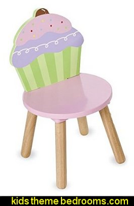 Cupcake Chair, in Pink  cupcakes bedroom ideas - cupcakes theme candy decorating candyland sweets - cupcake bedding - cupcake decor - candy decor -  Ice Cream decor - cupcakes and candy bedroom ideas - candy theme bedroom - cupcakes and candy decor - Candy party props - Candy party decorations - candyland gingerbread decorations