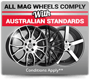 Wheel Comply with Australian Standards