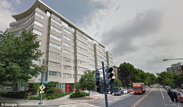 Claim: Lesin was reported by the TV station he set up - RT, known to be pro-Kremlin - to have died from a longstanding illness while staying at the Dupont Circle Hotel (pictured)