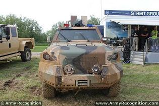 Cougar 4x4 APC Streit Group light armored vehicle personnel carrier technical data sheet description information specifications intelligence identification pictures photos images personnel carrier British United Kingdom defence industry army military technology