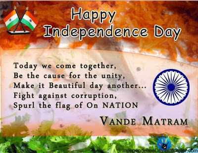 Happy Independence day poems 2016 English Wallpapers