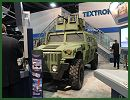 At AUSA 2013, Textron Marine & Land Systems and Granite Tactical Vehicle present an upgrade of armour to increase the crew protection of HMMWV light tactical vehicle. The Survivable Combat Tactical Vehicle (SCTV™) System offers occupants an armored monocoque v-hull crew capsule and restores tactical mobility with proven components.