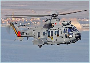 EC725 Caracal Super Cougar long-range tactical transport helicopter technical data sheet specifications information description pictures photos images video intelligence identification Nexter Systems France French army defence industry military technology