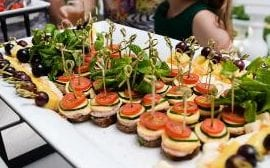 With wedding season upon us, it is time to establish some rules for canapé consumption