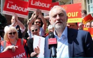 Jeremy Corbyn On The Election Campaign Trail