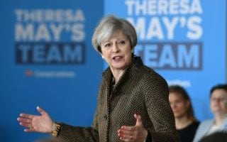 Theresa May will appear with her rivals on the BBC during the debates