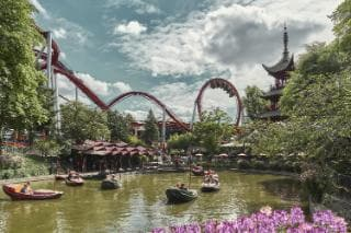 In the heart of Copenhagen, Tivoli has rides and far more style cred than any other theme park we've visited