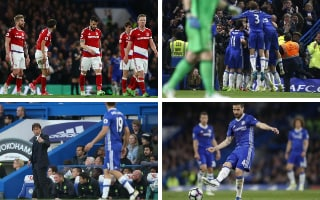 How Chelsea consigned Boro to Championship after edging towards Premier League title