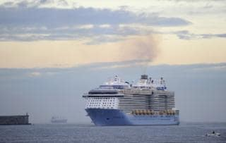 Anthem of the Seas weighs 168,666 GT