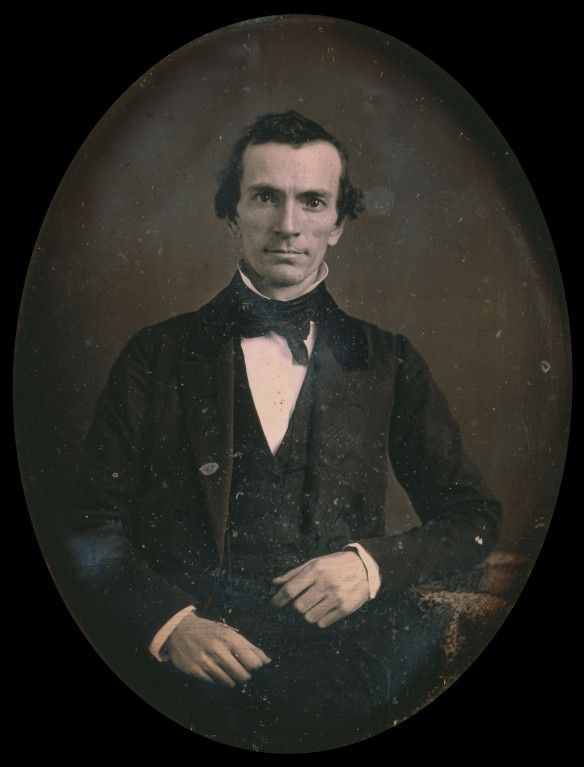 Original daguerreotype, post-conservation. Reproduction Number: LC-USZC4-11325. Library of Congress. Click to enlarge to full resolution.