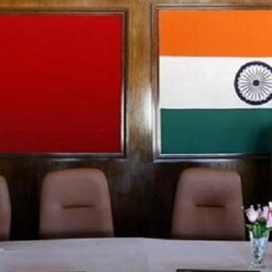 India China flag Reuters