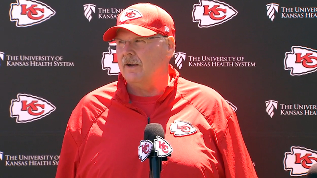 What We Learned from Chiefs Head Coach Andy Reid on Thursday