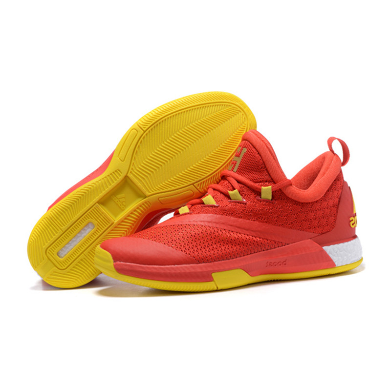 Adidas James Harden Crazylight Boost 2.5PE Shoes red yellow