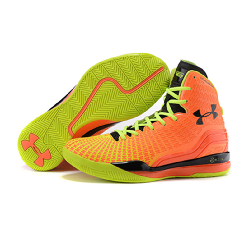 Under Armour ClutchFit Drive Stephen Curry Shoes Orange Yellow