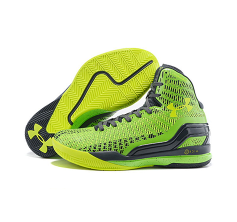 Under Armour Stephen Curry 1 Shoes 2015 green