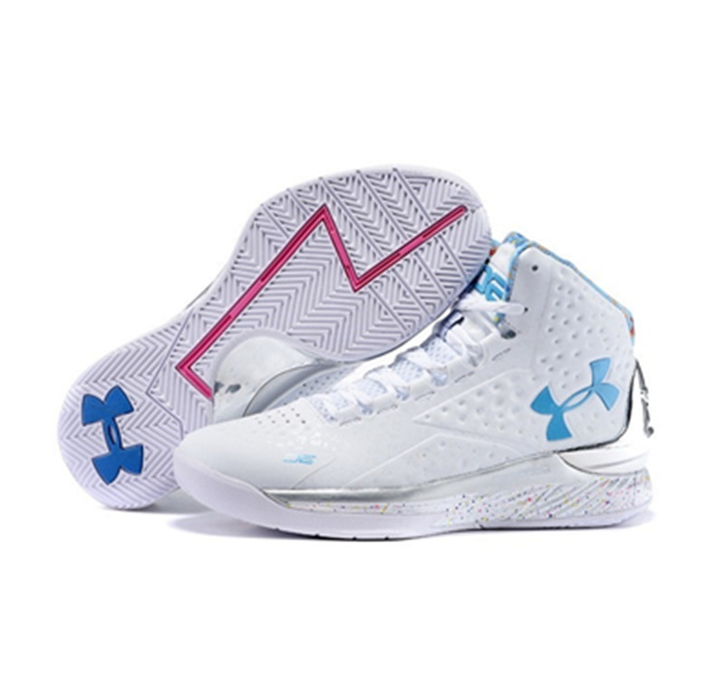 Under Armour Stephen Curry 1 Shoes All Star gray white