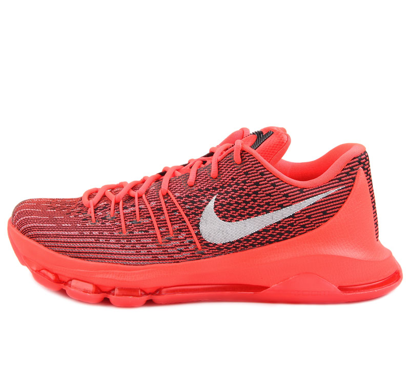 Nike KD8 Bright Crimson Keivn Durant Shoes Red White
