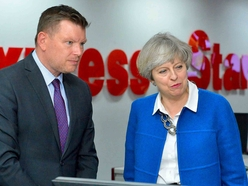 Theresa May in Wolverhampton: Brexit back at the heart of campaign - PICTURES and VIDEO