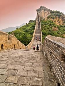 Фото: Достопримечательность Китая - Великая Китайская стена