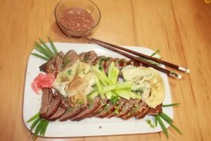 Фото: Утка по-пекински - главное блюдо ресторана
