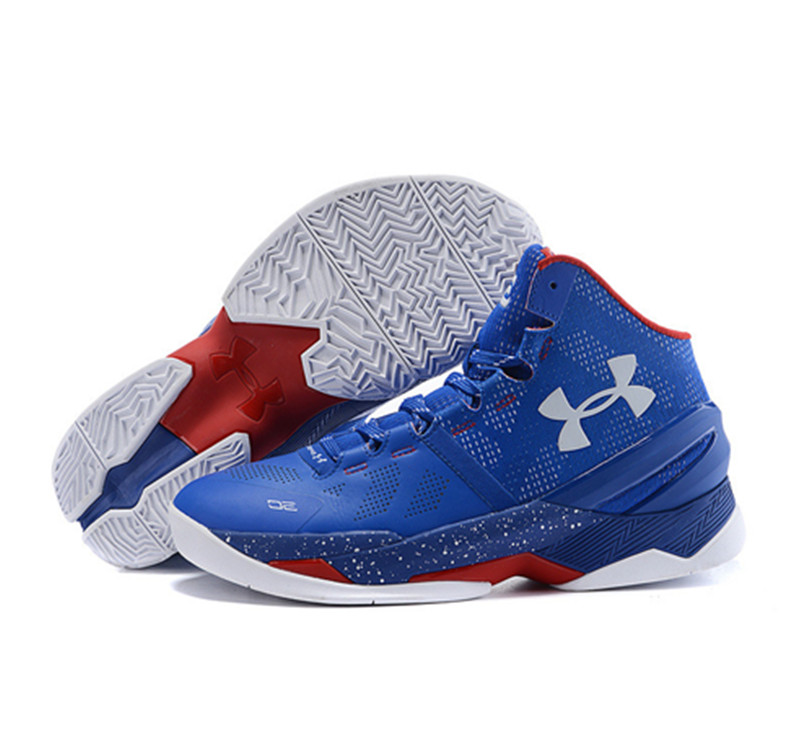 Under Armour Stephen Curry 2 Shoes Blue Red White