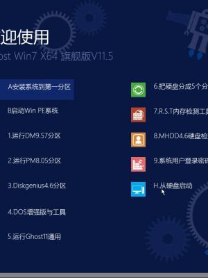 【Win7 64位精品】Ghost Win7 SP1 64位旗舰版V11.5