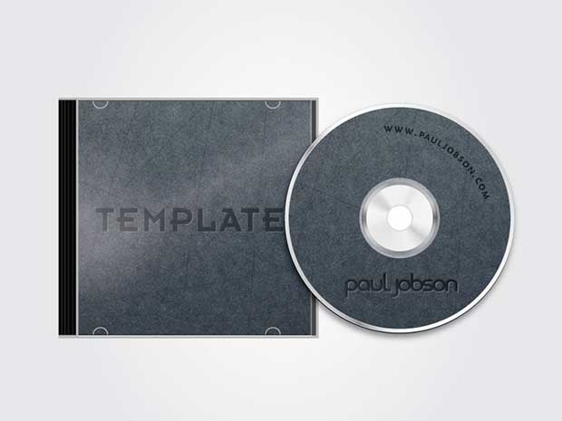 vector-cd-and-cd-case-cover-template