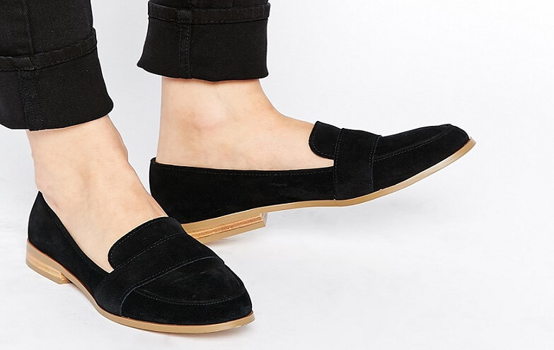 ASOS Loafers in Suede