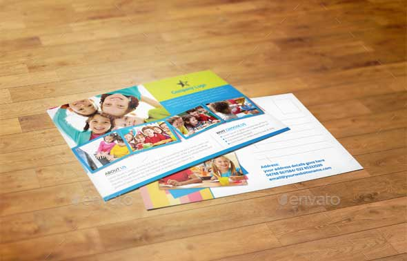 kids-school-postcard-templates
