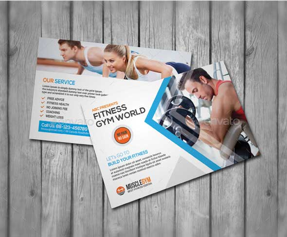 fitness-postcard-template-psd-download