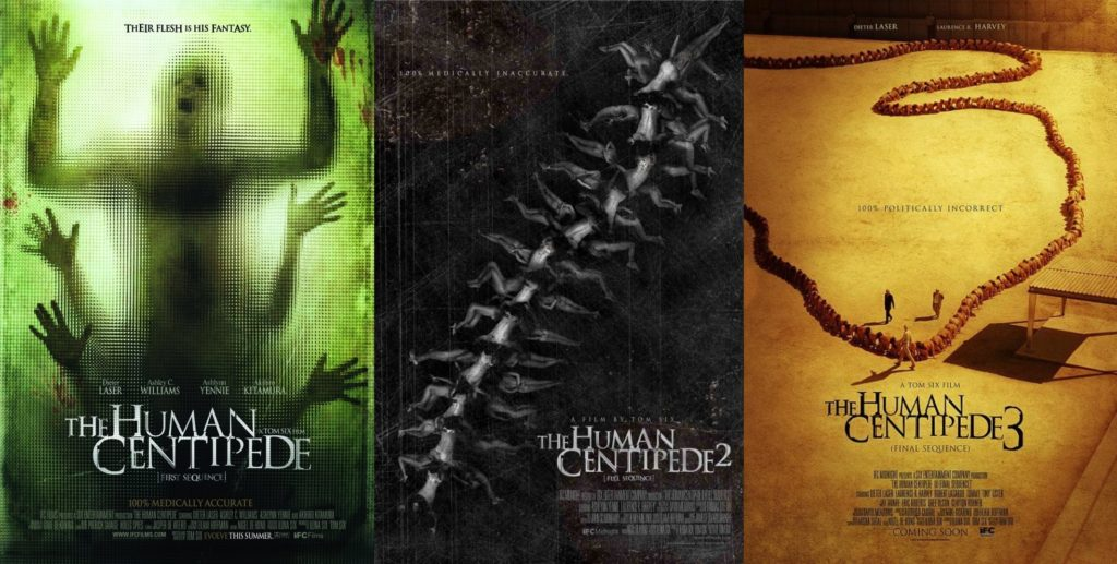 The Human Centipede Movies