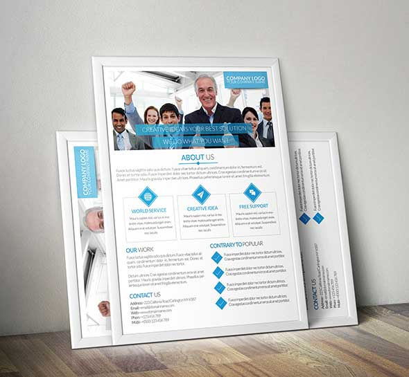 unic-clean-business-flyer-templates-free-psd-download