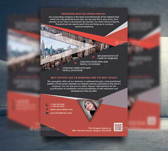 Creative Business Flyer Template PSD Download