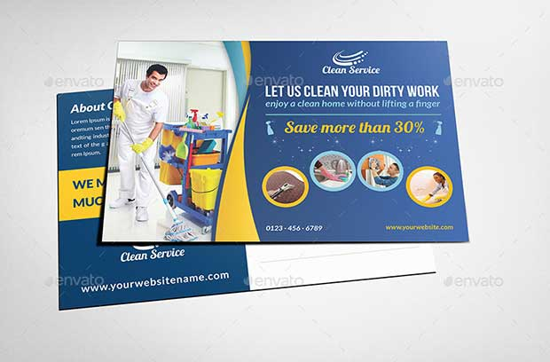 cleaning-services-postcard-template