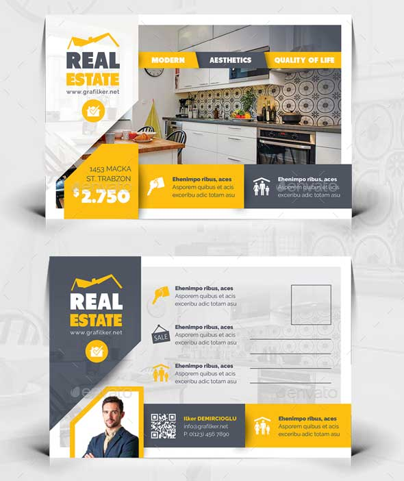real-estate-indesign-postcard-templates