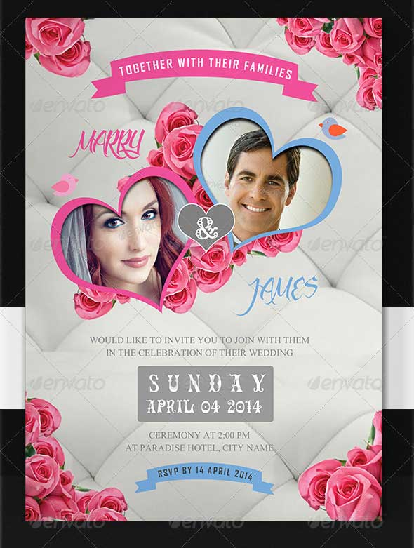 The Wedding Invitation Template