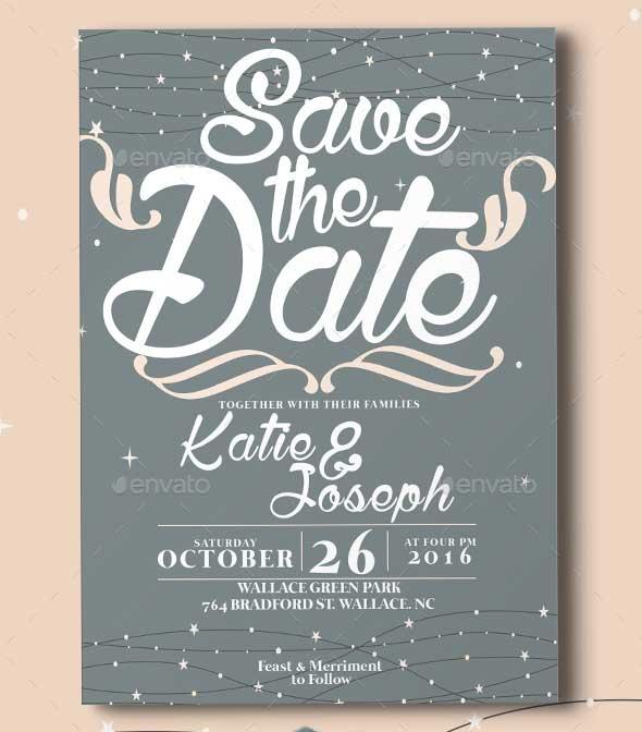 Creative Wedding Invitation Template PSD Download
