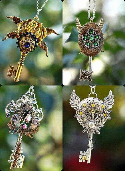 Потрясающие украшения в виде ключей от Keyper's Cove часть 2.