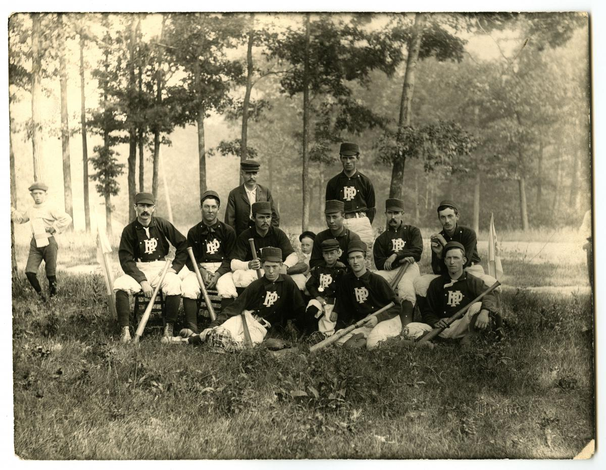 Highland Park Baseball Team 1899