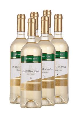 安娜城堡白葡萄2010(6支装)
