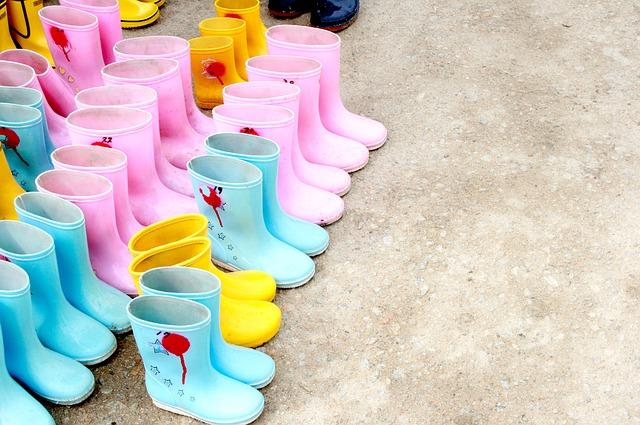 3 modi per personalizzare stivali di gomma economici