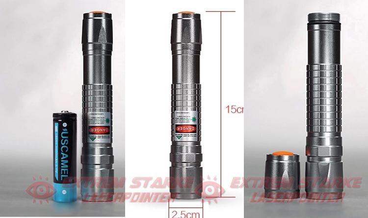 Starker grüner Laserpointer 3000mW