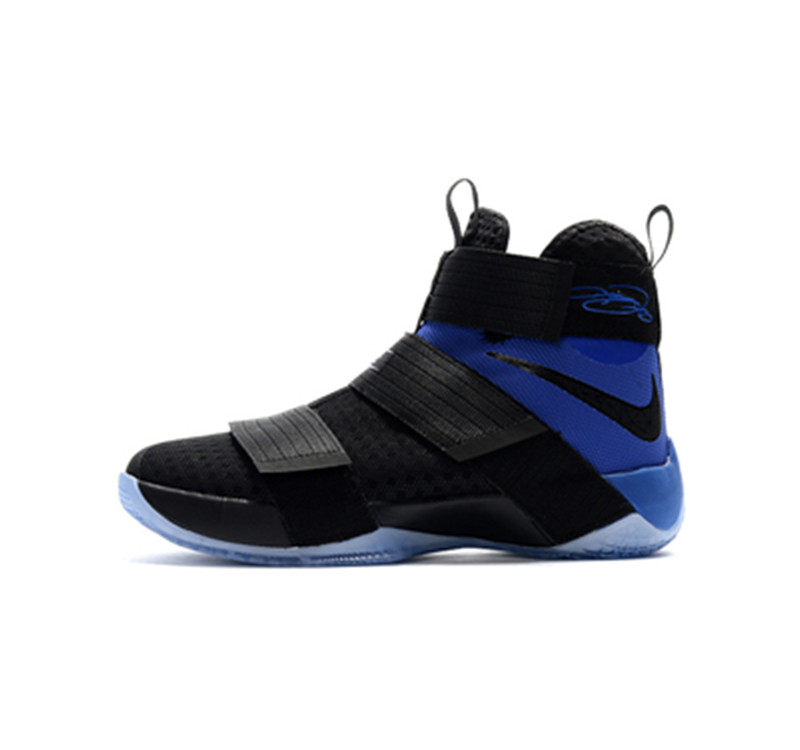 Nike Lebron Soldier 10 EP Shoes black blue