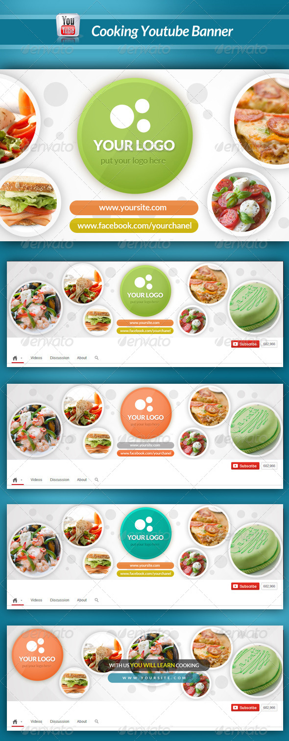 cooking-youtube-banner-template-psd-format
