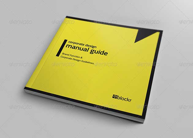Corporate Guide Design Template