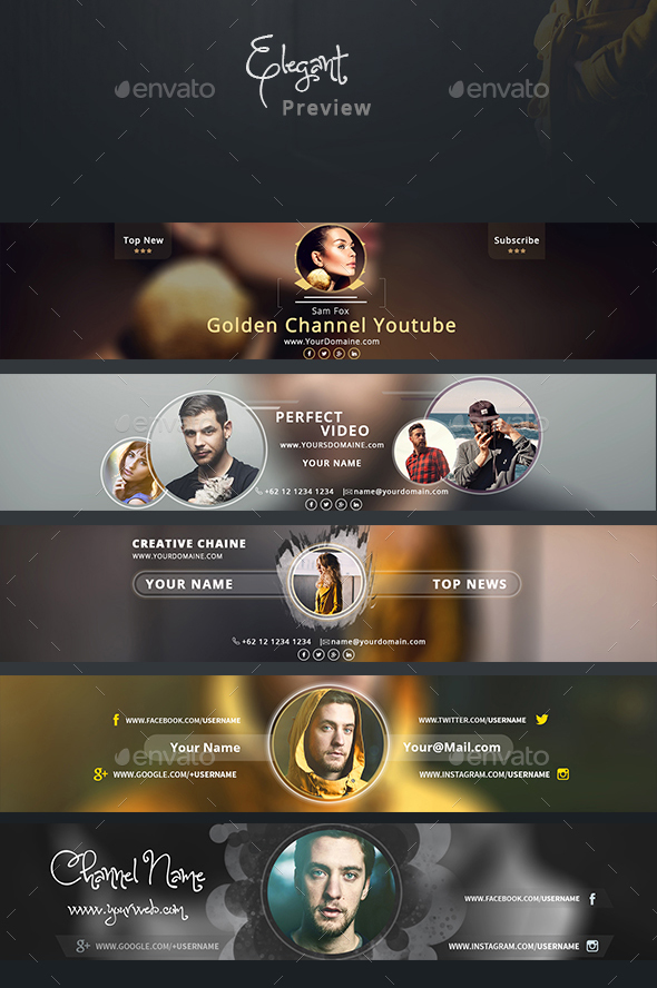 elegant-youtube-channel-banner-psd-template