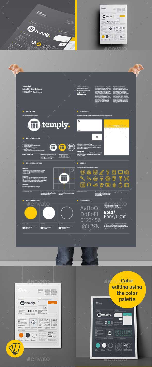 Brand Identity Poster Guideline Template