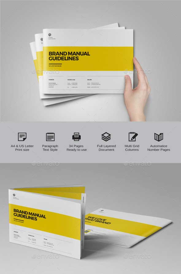 Landscape Brand Guidelines Template
