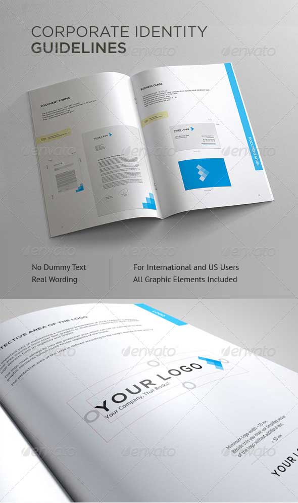 A 16 Page Corporate Identity In-Design Template
