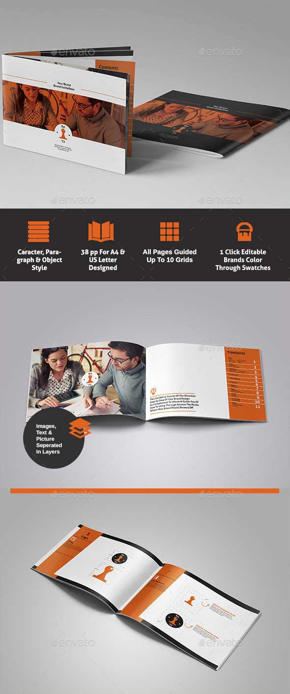 Professional Brand Identity Guidelines Template